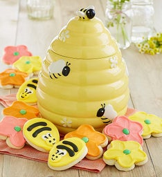 Collector's Edition Bee Hive Cookie Jar