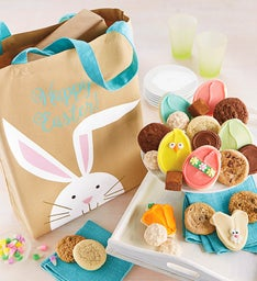 Happy Easter Canvas Tote