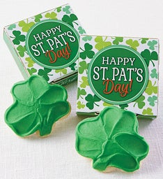 Happy St. Patrick's Day Cookie Card