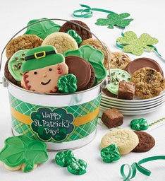 Happy St Patrick's Day Treats Pail