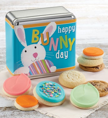 Bunny Day Easter Gift Tin