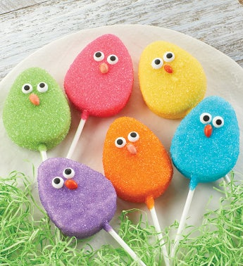 Easter Marshmallow Pops Set of 6
