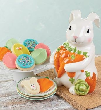 Collectors Edition Easter Bunny Cookie Jar