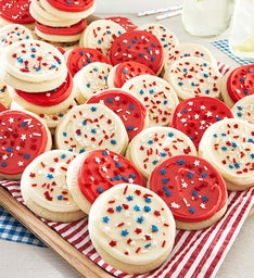 American Classic Buttercream Frosted Cut-out Cookies