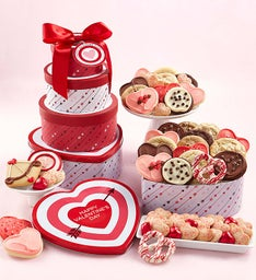 Love Struck Gift Tin Tower