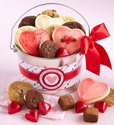 Happy Valentine's Day Treats Pail