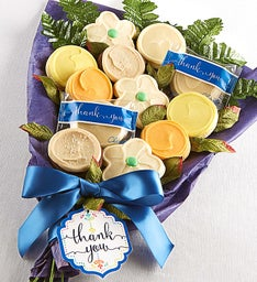 Buttercream Frosted Thank You Cookies