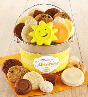 Bucket of Sunshine Treats Pail