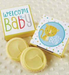B is for Baby Boy Cookie Card