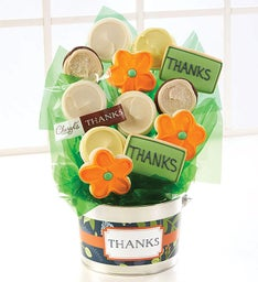 Thank You Cookie Flower Pot
