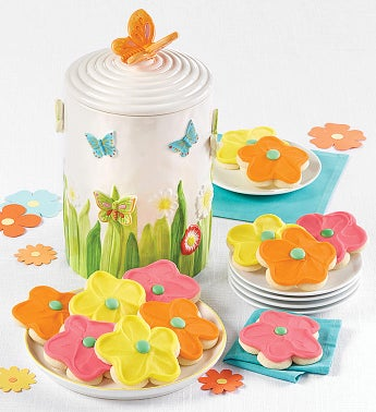 Collector39s Edition Butterfly Cookie Jar