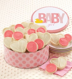 Baby Girl Ducky Gift Tin