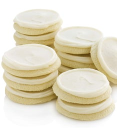 Buttercream Frosted Cut-outs - 24 Cookies