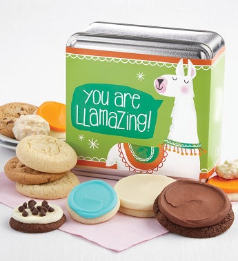 Youre Llamazing Treats Gift Tin