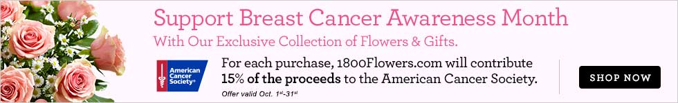 Support Breast Cancer Awareness Month | 1-800-FLOWERS.COM