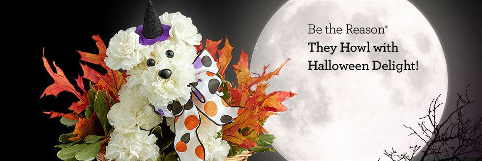 Be the Reason® They Howl with Halloween Delight!
