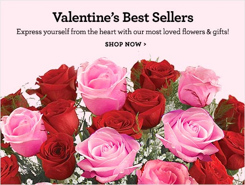 Valentine's  Best Sellers