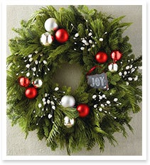 22' Joy Chalkboard Wreath