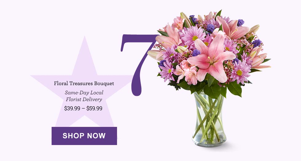 Floral Treasures Bouquet