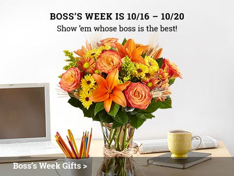 Boss's Week is 10/16 - 10/20