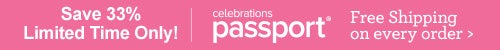 Celebrations Passport - Save 33% - Limited Time Only!