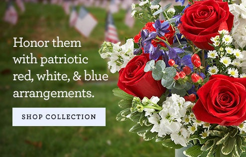 Patriotic Red, White and Blue