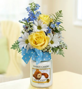 Soft Blanket™ Yankee Candle® Boy Bouquet