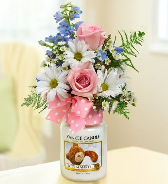 Soft Blanket™ Yankee Candle® Girl Bouquet