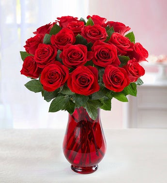 Red Rose Bouquet 18 Stems