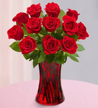 One Dozen Red Roses