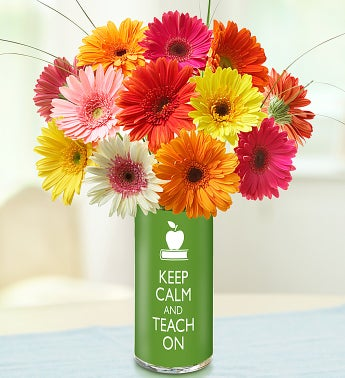 Keep Calm and Teach On Bouquet