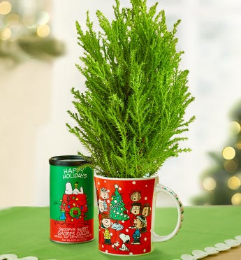 Charlie Brown® Christmas Tree in Mug