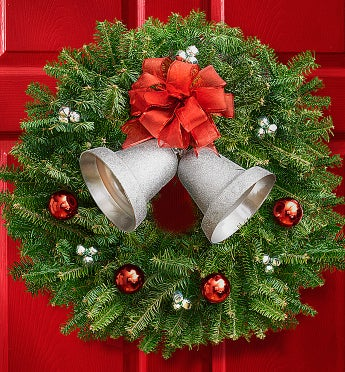 Season's Greetings Wreath