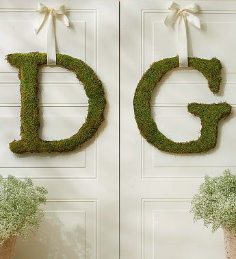 Fresh Moss Letters