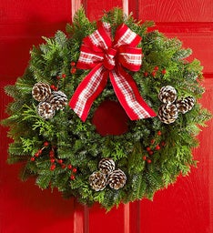 Festive Holiday Wreath