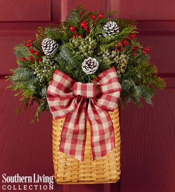 Evergreen Hanging Basket by Southern Living®