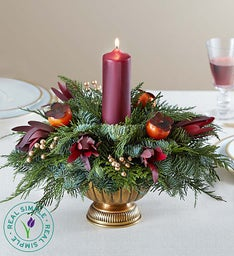 Opulent Fall Centerpiece by Real Simple®
