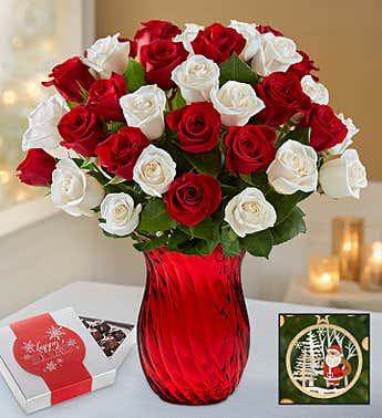 Peppermint Rose Bouquet