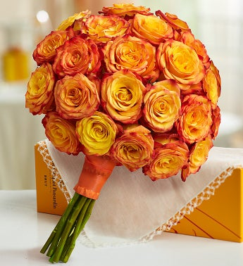 Golden Sunset Bouquet