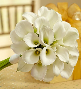 White Mini Calla Liliy Bouquet