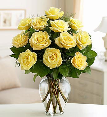 Rose Elegance™ Premium Yellow Roses