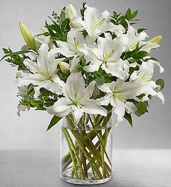 Grand Elegance Lily Bouquet