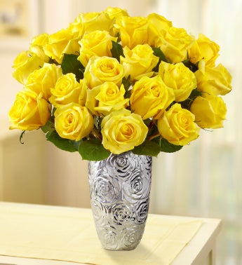 Yellow Roses for Sympathy
