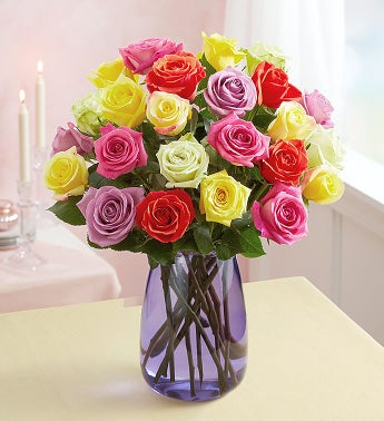 Assorted Roses, 24 for $24