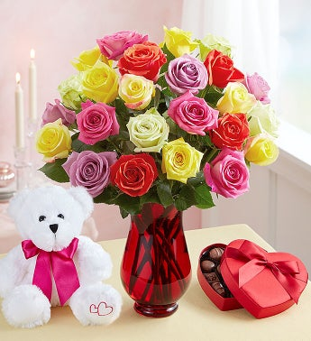 Assorted Roses: Buy 12, Get 12 Free