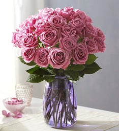 104909 Passion for Purple™ Roses, 12-24 Stems
