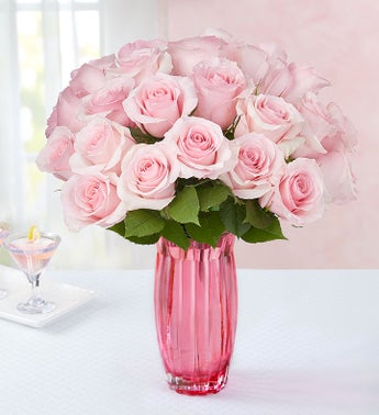 Pink Petal Roses for Mom, 12-24 Stems