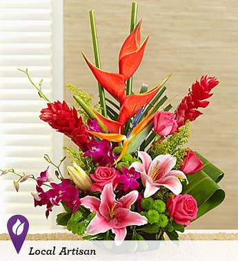 Exotic Flowers & Tropical Flower Arrangements | 1800Flowers