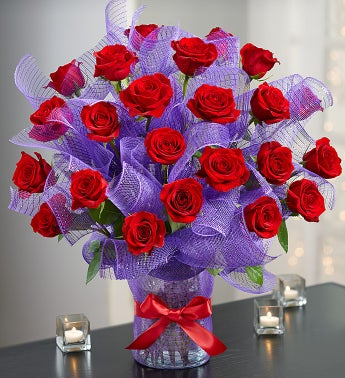 Valentine Passion™ Premium Long Stem Roses
