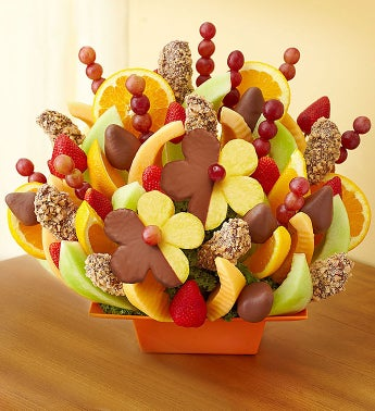 Abundant Fruit & Chocolate Tray™ by Fruit Bouquets